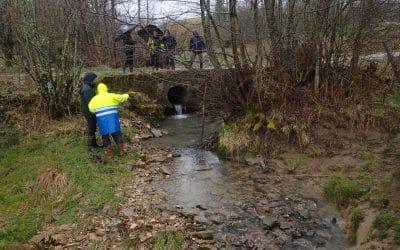 Etude hydrologique du Verneau :  Première sortie terrain