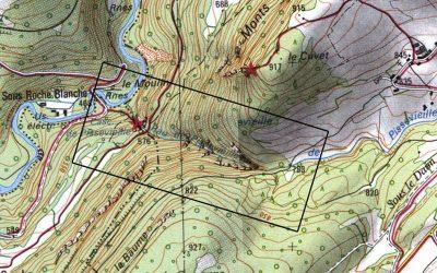 Pollution au lisier du canyon de Pissevieille