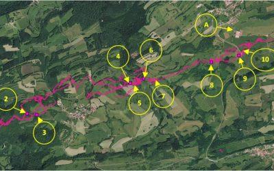 Etude Hydrologique du Verneau – Relevé et installations de sondes – 11.07.2020